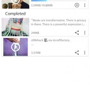 Video Downloader for Instagram Ekran Görüntüleri - 1