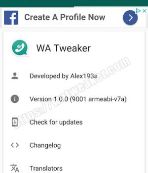 WA Tweaker (WA Tweaks) Ekran Görüntüleri - 8