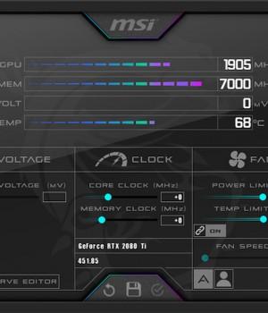 MSI Afterburner Ekran Görüntüleri - 1