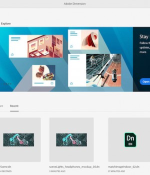 Adobe Dimension Ekran Görüntüleri - 1