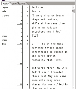 Adobe InCopy Ekran Görüntüleri - 1