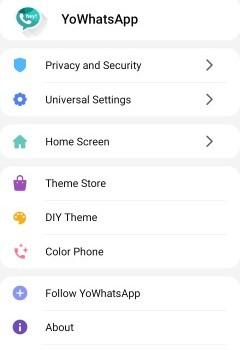 YOWhatsApp Ekran Görüntüleri - 3