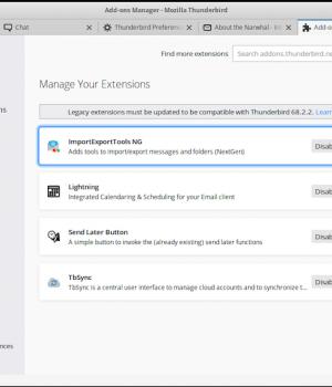 Mozilla Thunderbird Ekran Görüntüleri - 1