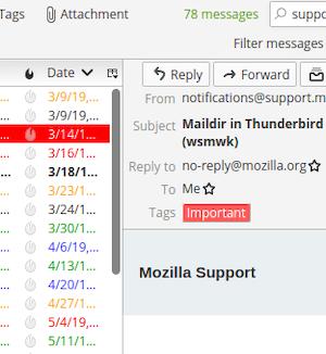 Mozilla Thunderbird Ekran Görüntüleri - 6