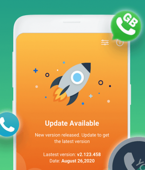 AppUpdater for Whats Plus 2021 GB Yo FM HeyMods Ekran Görüntüleri - 1