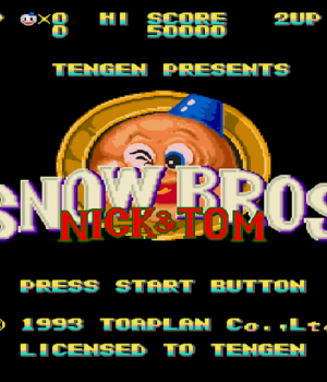 SnowBros Ekran Görüntüleri - 1