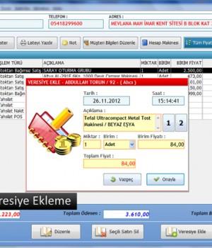 Müşteri Takip ve Veresiye Defteri Ekran Görüntüleri - 3