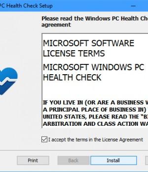 PC Health Check Ekran Görüntüleri - 1