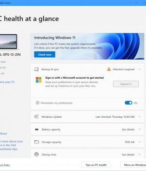 PC Health Check Ekran Görüntüleri - 3