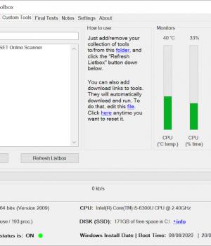 Windows Repair Toolbox Ekran Görüntüleri - 1