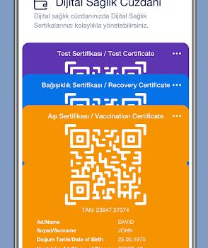 HealthPass Ekran Görüntüleri - 1