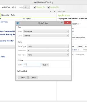 NetLimiter Pro Ekran Görüntüleri - 1