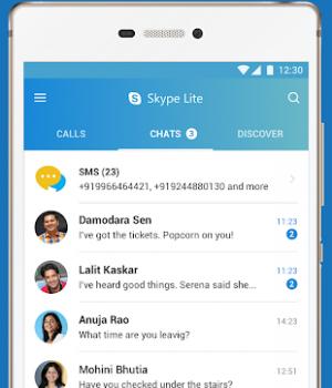 Skype Lite (APK) Ekran Görüntüleri - 1