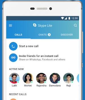 Skype Lite (APK) Ekran Görüntüleri - 6