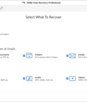 Stellar Phoenix Windows Data Recovery Professional Ekran Görüntüleri - 1