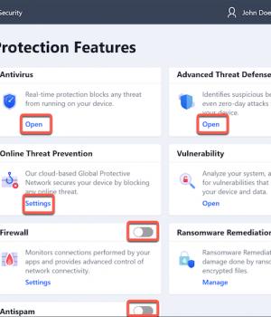BitDefender Total Security Ekran Görüntüleri - 1