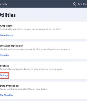 BitDefender Total Security Ekran Görüntüleri - 4