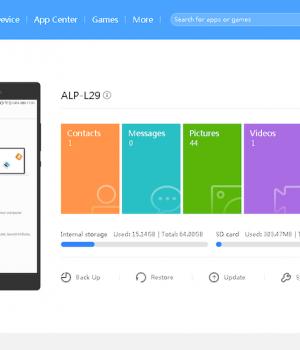 HiSuite Ekran Görüntüleri - 1