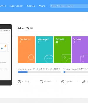 HiSuite Ekran Görüntüleri - 5