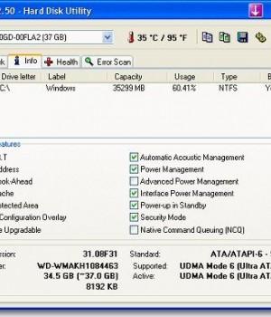 HD Tune Ekran Görüntüleri - 1