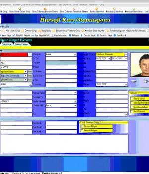 Hursoft Kurs Otomasyonu Ekran Görüntüleri - 1