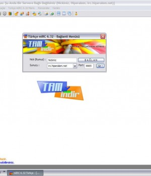 Türkçe mIRC Ekran Görüntüleri - 3