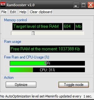 RAMBooster Ekran Görüntüleri - 2