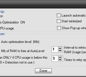 RAMBooster Ekran Görüntüleri - 1