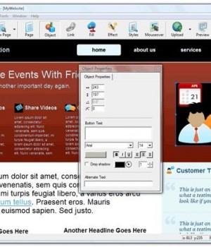 CoffeeCup Visual Site Designer Ekran Görüntüleri - 1
