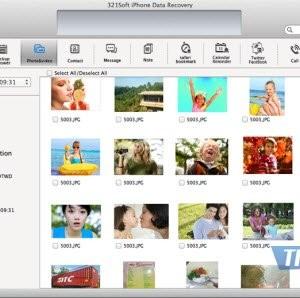 321Soft iPhone Data Recovery for Mac Ekran Görüntüleri - 3