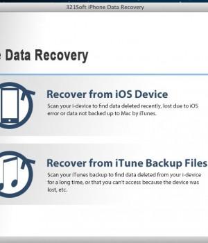 321Soft iPhone Data Recovery for Mac Ekran Görüntüleri - 1