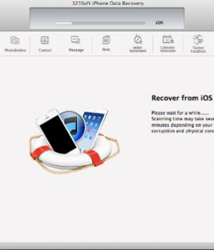 321Soft iPhone Data Recovery for Mac Ekran Görüntüleri - 4