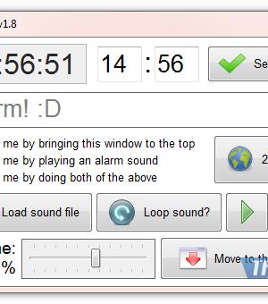 Alarm Programı Ekran Görüntüleri - 1