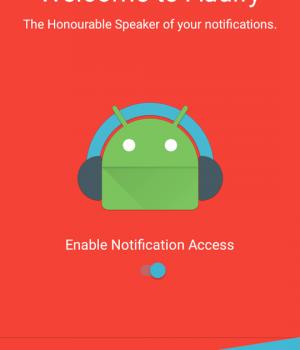 Audify Notification Reader Ekran Görüntüleri - 5