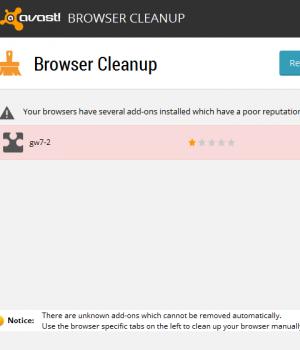 Avast! Browser Cleanup Ekran Görüntüleri - 3