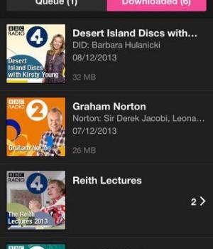 BBC iPlayer Radio Ekran Görüntüleri - 2