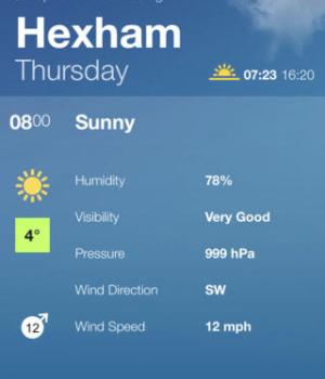 BBC Weather Ekran Görüntüleri - 1
