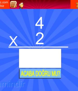 Çarpım Tablosu Öğretici Ekran Görüntüleri - 1