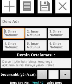 Ders Sınav Notu ve Devamsızlık Ekran Görüntüleri - 3
