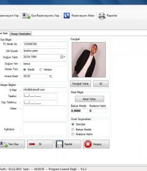 Diclesoft Halı Saha 2014 Ekran Görüntüleri - 5