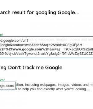 Don't track me Google Ekran Görüntüleri - 1