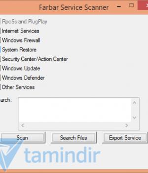Farbar Service Scanner Ekran Görüntüleri - 1