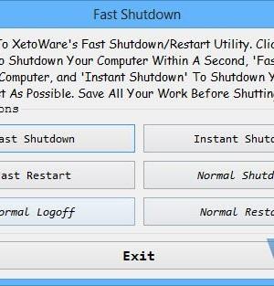 Fast Shutdown Ekran Görüntüleri - 1