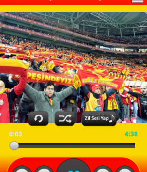 Galatasaray Marşları Ekran Görüntüleri - 2