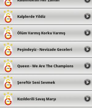 Galatasaray Marşları Ekran Görüntüleri - 1