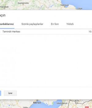 Google Maps Ekran Görüntüleri - 1