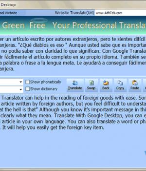 Google Translate Desktop Ekran Görüntüleri - 2
