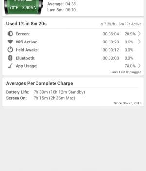 GSam Battery Monitor Ekran Görüntüleri - 5