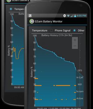 GSam Battery Monitor Ekran Görüntüleri - 1