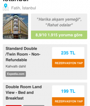 HotelsCombined Ekran Görüntüleri - 3
